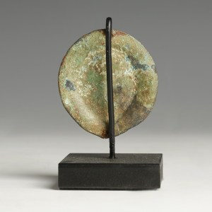 bronze applique roman god