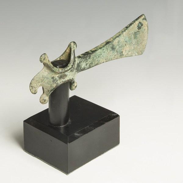 Luristan Bronze Axe Head