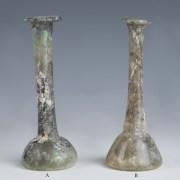 Roman Candlestick Glass Unguentaria