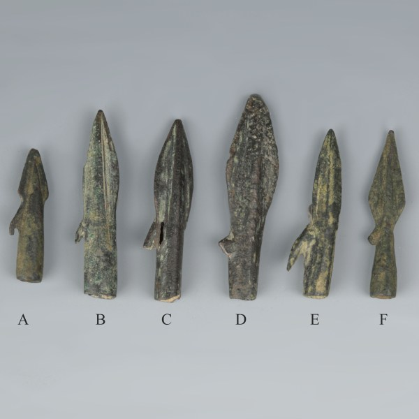 Selection of Hellenistic Bronze Arrowheads