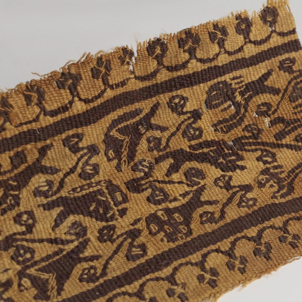 Coptic Strip Wool Fragment