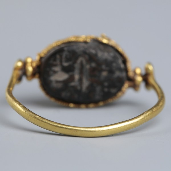 Phoenician Swirl Ring from the Mustaki Collection