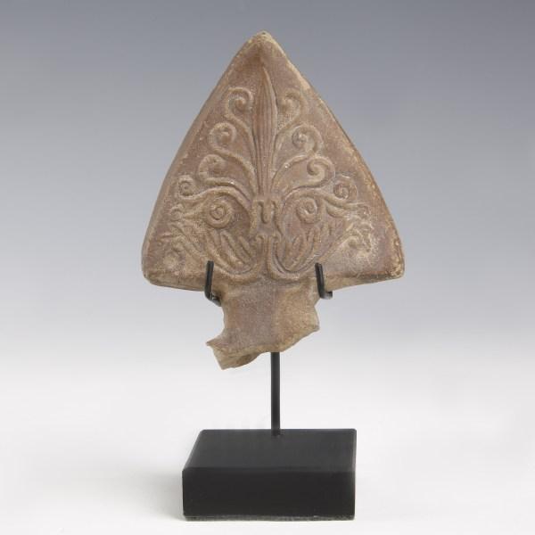 Roman Acanthus Palm Lamp Handle