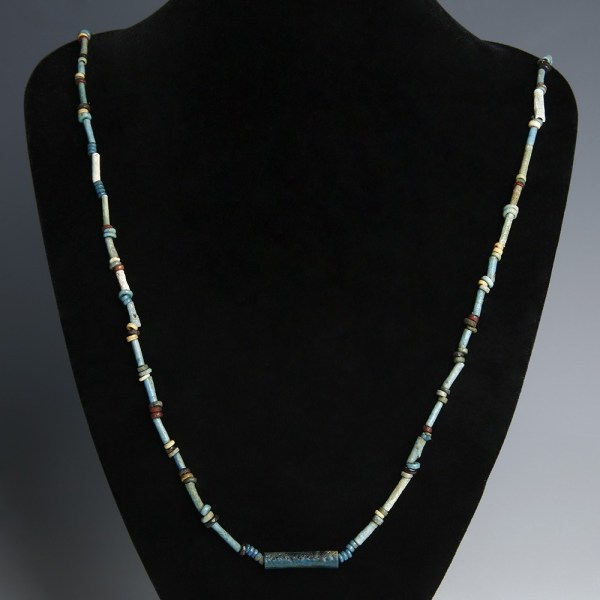 Fine Egyptian Necklace with Amarna Beads