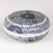 Kangxi Blue and White Jewellery Box
