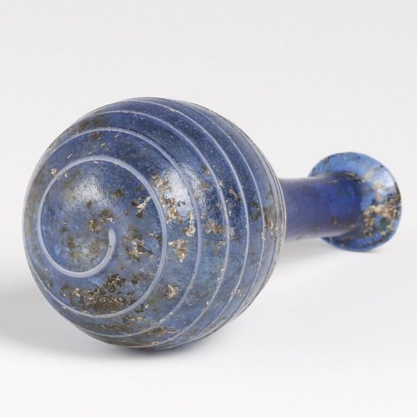 Roman Blue Glass Unguentarium
