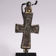 Large Byzantine Enkolpion with Mary
