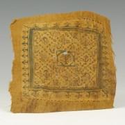 Large Coptic Square Textile Fragment