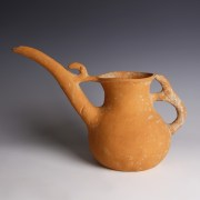 Luristan Spouted Jar with Quadruped Handle