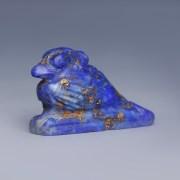 Egyptian Lapis Lazuli Amulet of an Ibis