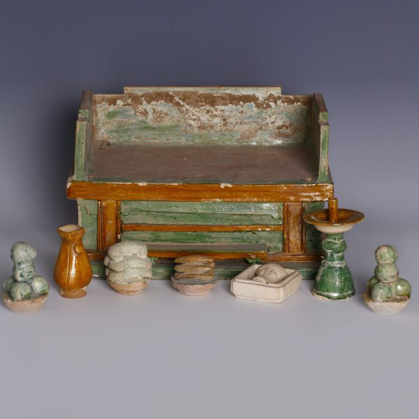 Ming Dynasty Altar Table with Offerings