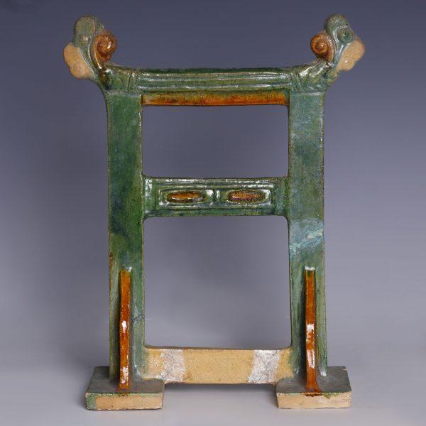 Ming Dynasty Sancai Miniature Architectural Gate