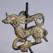 Ordos Belt Plaque Shaped as a Stag