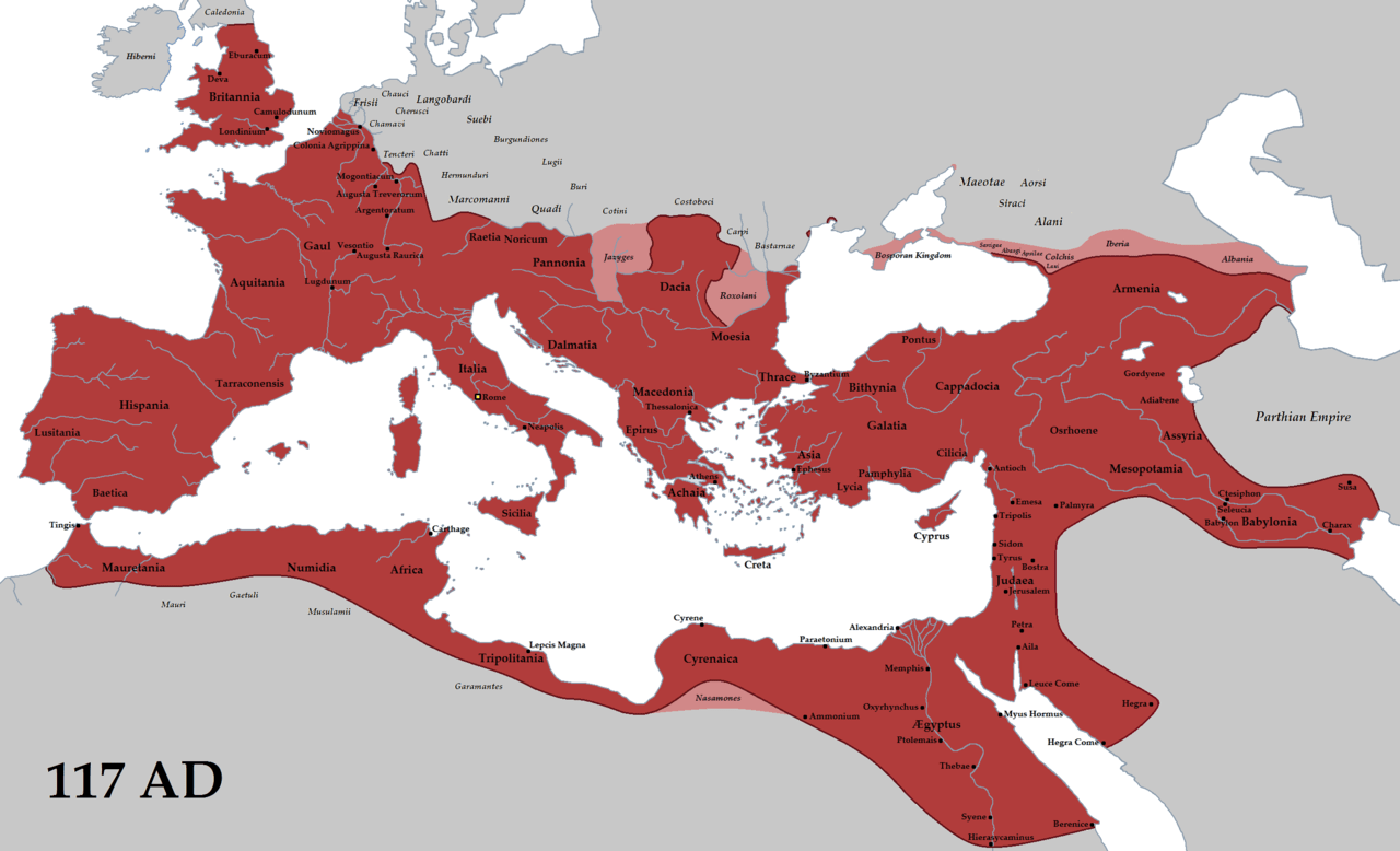 Ancient Rome Map And Timeline