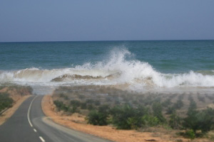 road to the ocean