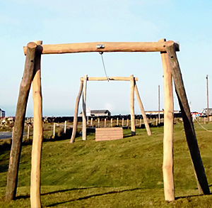 New Playpark Zipline