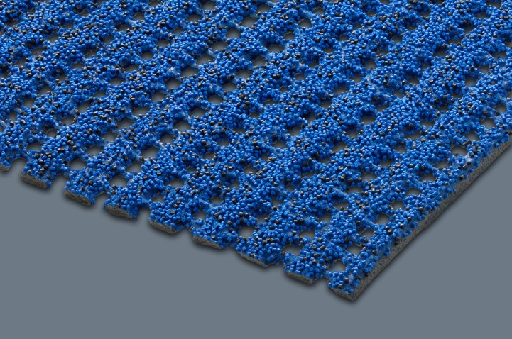 SAFETY MAT BLUE
