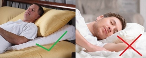 elevated position help snoring