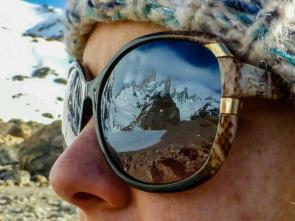Danielle Fenton (@TrekSnappy) of the UK got an awesome sunglasses reflection of Patagonia. Pretty sweet, eh? http://t.co/brmnu4vTLd