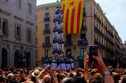 @wechasesummer of Spain caught the famous human tower tradition, where a child must try to climb to the top. Seen anything stranger? https://twitter.com/WeChaseSummer/status/524283483351678976/photo/1