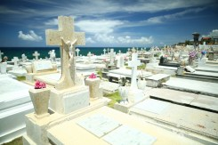 The most beautiful cemetery I've ever seen, San Juan, Puerto Rico