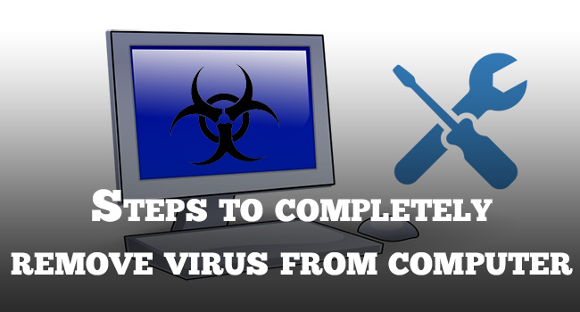 remove virus from computer