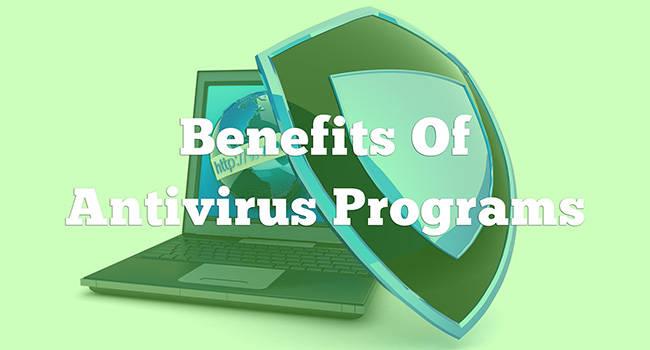 benefits of antivirus