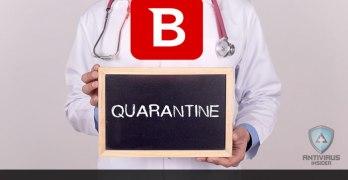 Access Quarantine in Bitdefender