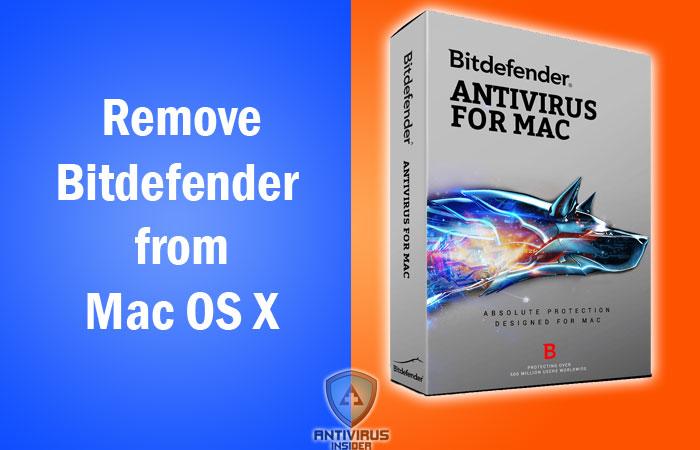 Remove Bitdefender from Mac