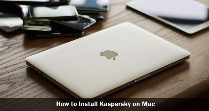 how to install kaspersky on