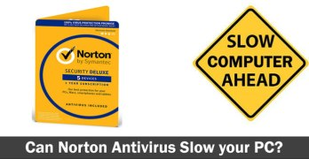 Can Norton Antivirus Slow your PC
