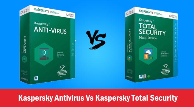Kaspersky Antivirus Vs Kaspersky Total Security