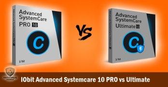 IObit Advanced Systemcare 10 PRO vs Ultimate