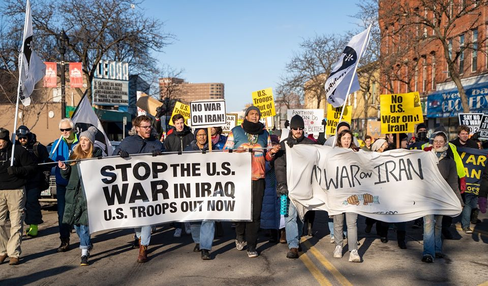 US Out of Iraq – No War with Iran! – Anti-War Committee