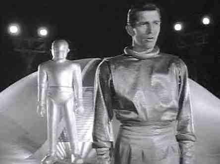 Michael Rennie musste als Außerirdischer noch keine Väterkomplexe ausarbeiten