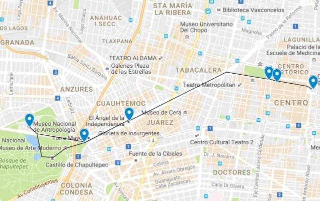 Mexico City - Walking Tour