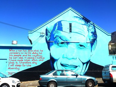 City Bowl: Street Art - Nelson Mandela
