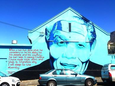 City Bowl: Street Art - Nelson Mandela