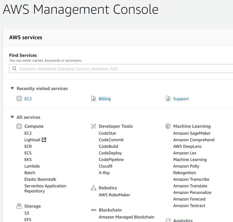 Start Ant Media Server on AWS Marketplace