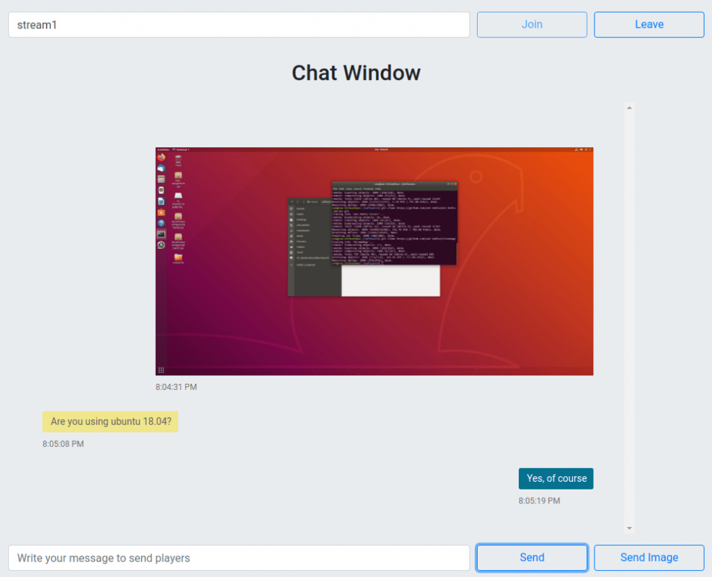 WebRTC Chat and File Transfer Done Easily with Ant Media Server - Part 2 3