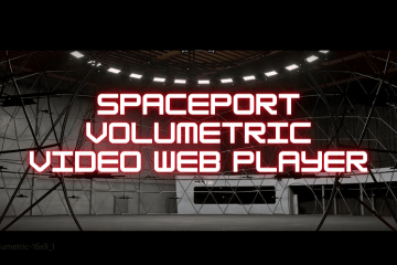 spaceport volumetric video web player