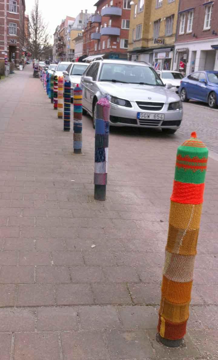Stickgraffiti i Trollhättan