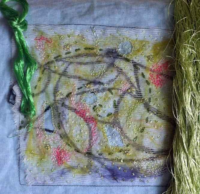 Gröna silkestrådar
