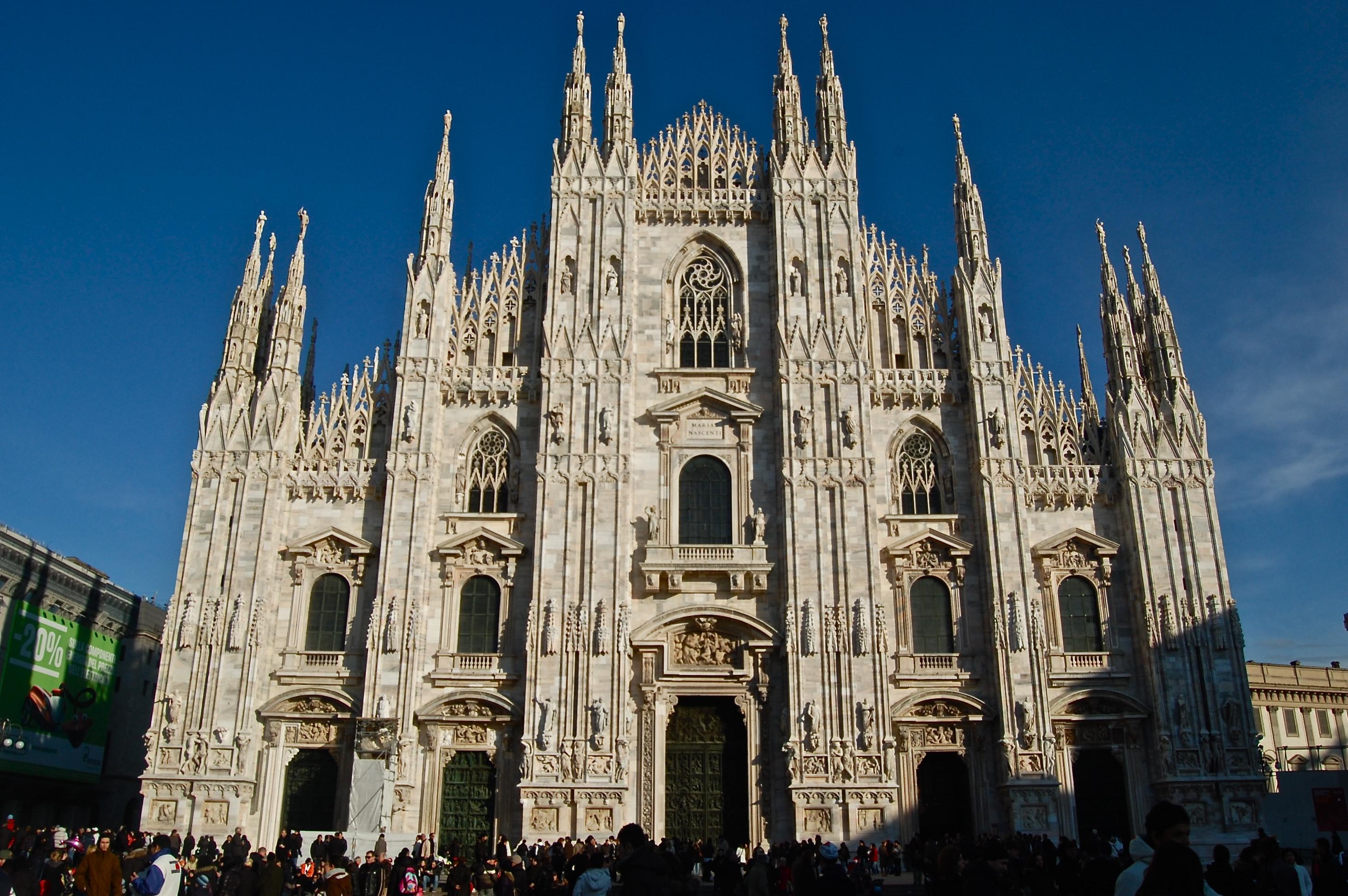 Il Duomo di Milano  a WP bubble