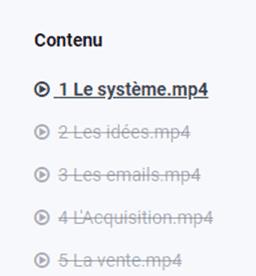 contenu de la formation emails privés quotidiens
