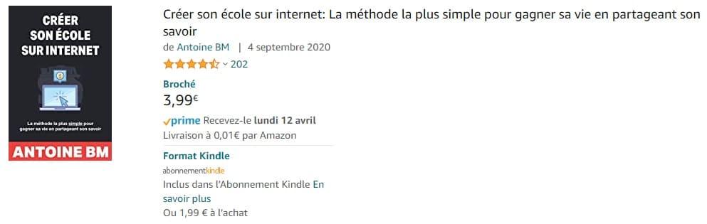 comment publier un livre gratuitement sur Amazon KDP