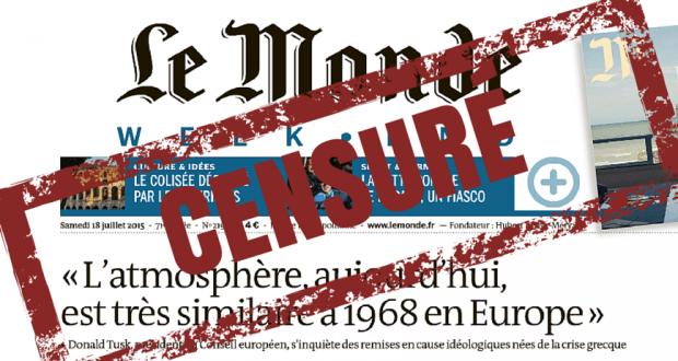 le monde autocensure donald tusk oligarchie