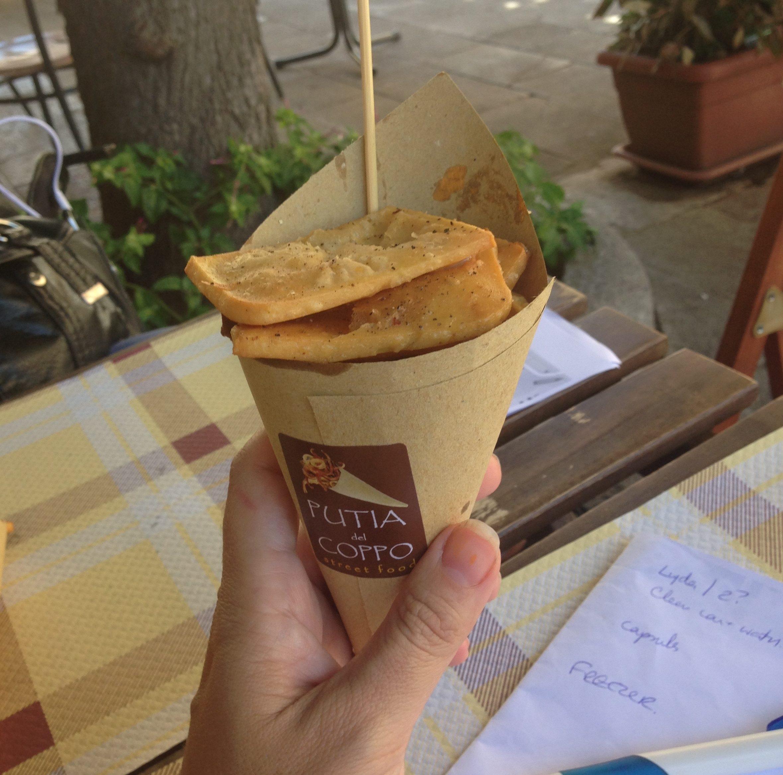 Sicilian Panelle (Sicilian chickpea fritters)