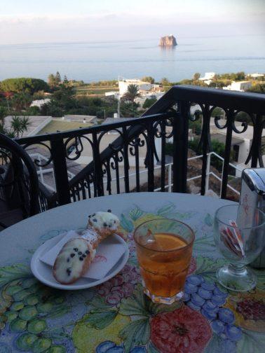 Lipari. Italian: The Sicilian Island with the best cannolo in the world. English:L'isola siciliana con il miglior cannolo al mondo.