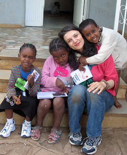 working for WORLDWIDE ORPHANS FOUNDATION in Addis Ababa, Ethiopia